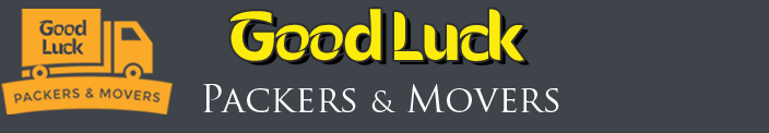 GoodLuck Packers and Movers Logo