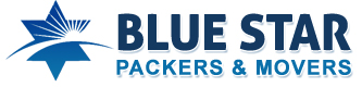 BLUE STAR PACKERS AND MOVERS Logo