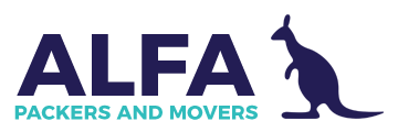 Alfa Packers And Movers Logo